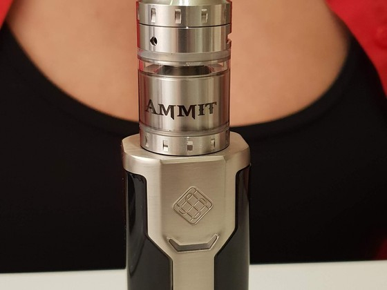 Ammit MTL & Sinuous P80 Box Mod