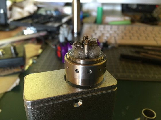3Fach-Dual Wicklung Kanthal 28 auf Magma