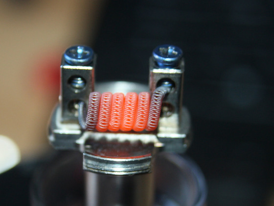 Staggered fused Clapton 2x 0,3mm V2A Seele spaced Clapton 0,2mm V2A fussed 0,2mm V2A