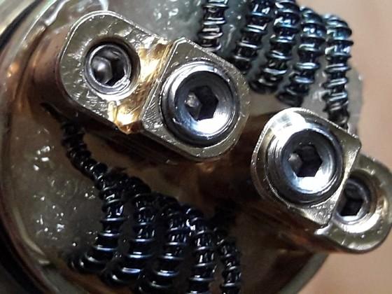 peerless rda mit framed clapton coil