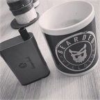 Kaffee und Dampfe