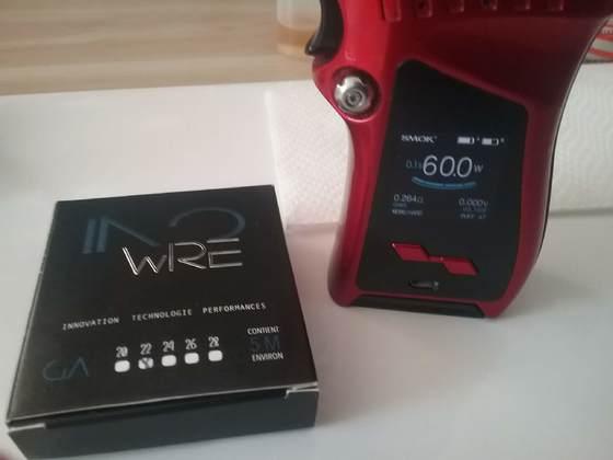 InoWire 22 / 0,256 Ohm / 60 Watt