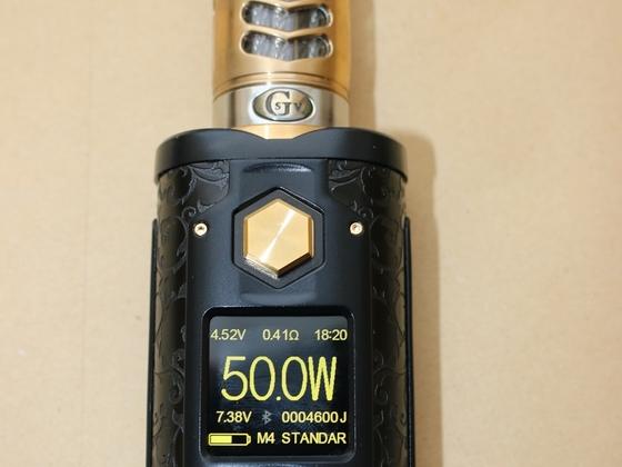 Gelite² Mod (poliert-teilvergoldet) auf SXmini G-Class Limited schwarz-gold