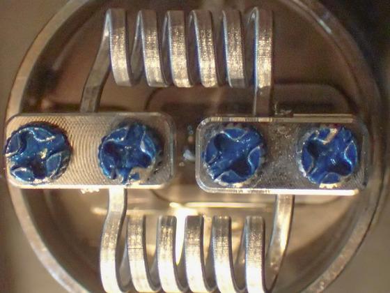 die ersten eigenen  V2A 3 Kern Clapton