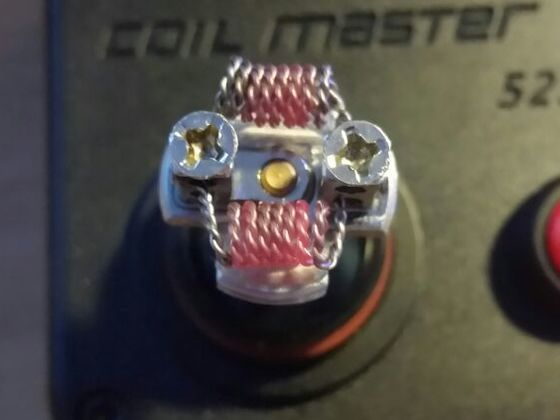 0,25 Ohm Twisted 2x 0,5 Kanthal A1